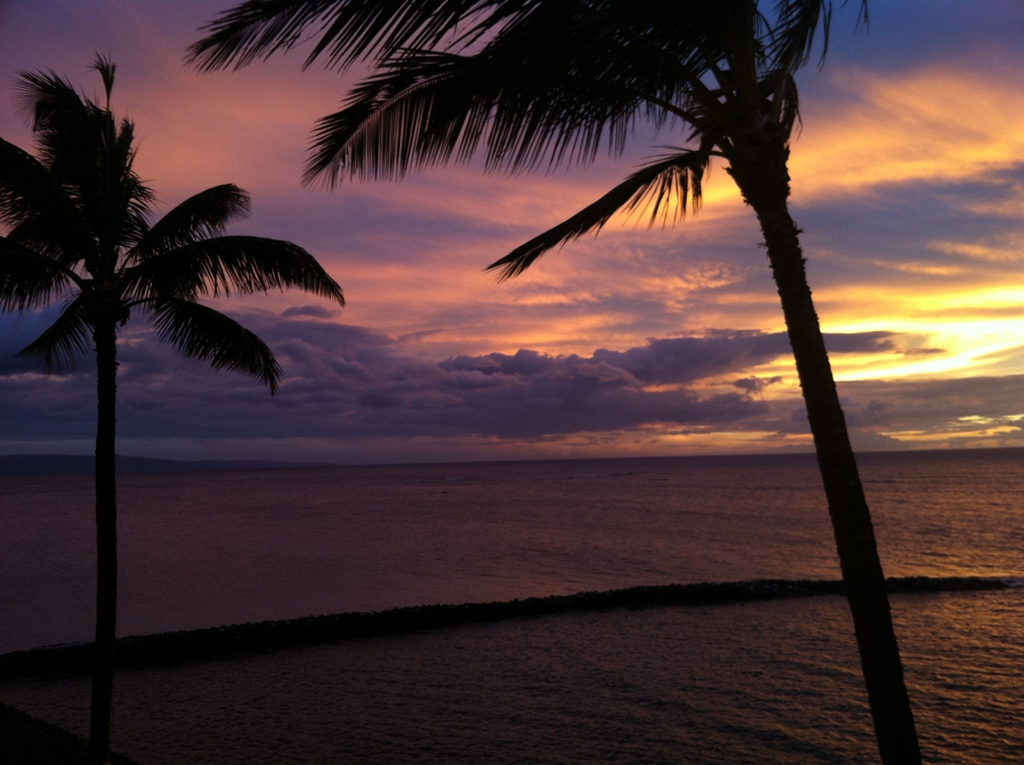 sunset-at-ancient-hawaiian-fishpond